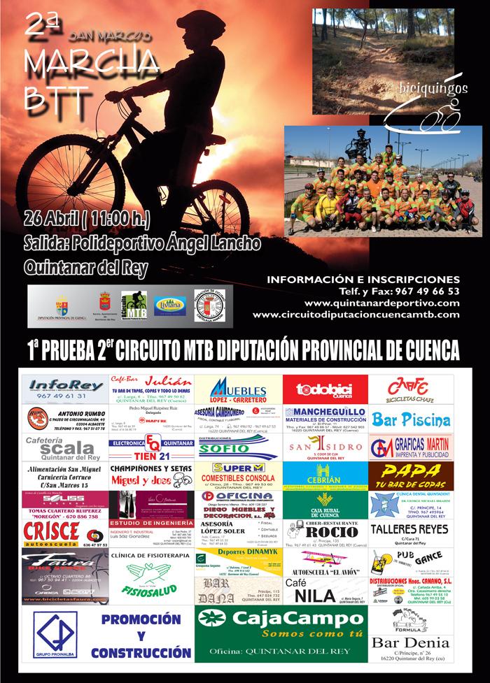 Circuito Quintanar Del Rey : Quintanardeportivo mountain bike ii marcha btt san